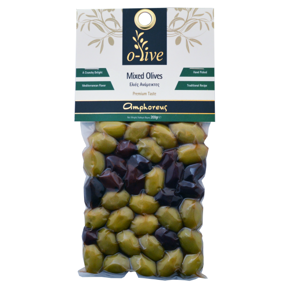 Mixed olives 200gr