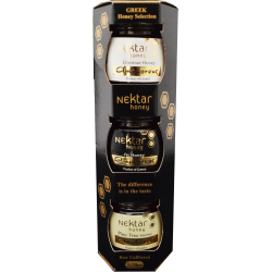 Organic Nektar Honey Mini Pack