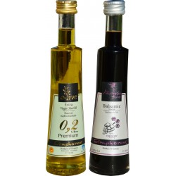 New bottles for Olive Oil and Balsamic Vinegar with Honey