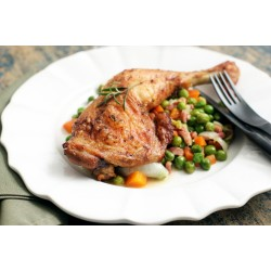 CHICKEN WITH PEAS