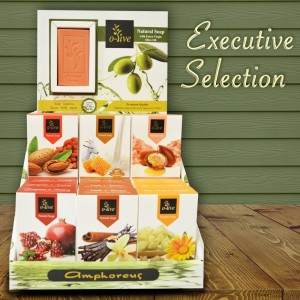 Executive Soaps with Early Harvest Extra Virgin Olive Oil